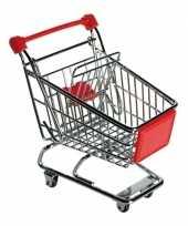 Groothandel speelgoed winkelwagentje rood
