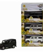 Groothandel speelgoed witte landrover 20 cm