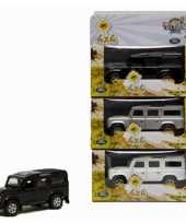 Groothandel speelgoed zwarte landrover 20 cm
