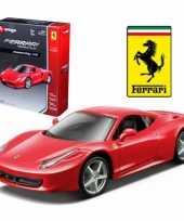 Groothandel speelgoedauto ferrari 458 italie rood