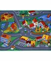 Groothandel speelkleden dorp met wegen 95 x 133 cm speelgoed