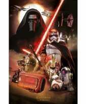 Groothandel star wars episode 7 poster speelgoed