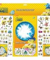 Groothandel sticker album van spongebob speelgoed