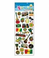 Groothandel stickervel reggae speelgoed