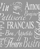Groothandel teken sjabloon voor franse teksten speelgoed