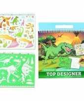 Groothandel tekenset dino creatief speelgoed