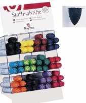 Groothandel textielstift zwart met dikke punt speelgoed