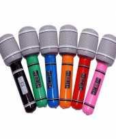 Groothandel voordelige opblaas microfoons speelgoed