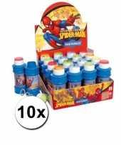 Groothandel voordelige spiderman bellenblazen 10x speelgoed
