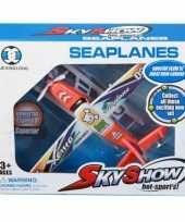Groothandel water vliegtuig met frictie motor speelgoed