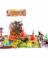 Groothandel wilde westen speelset speelgoed