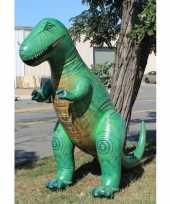 Groothandel xxl opblaas t rex groen 300 cm speelgoed