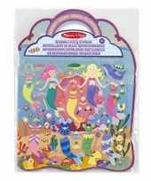 Groothandel zeemeerminnen stickerboek speelgoed