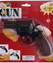 Groothandel zwarte detective revolver speelgoed